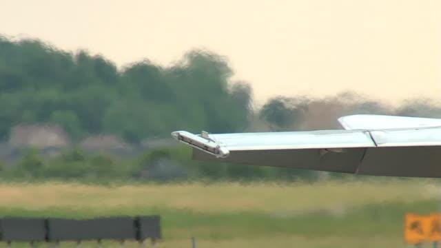 vídeos y material grabado en eventos de stock de combate f18 publicitario rodaje en tierra seq - air force