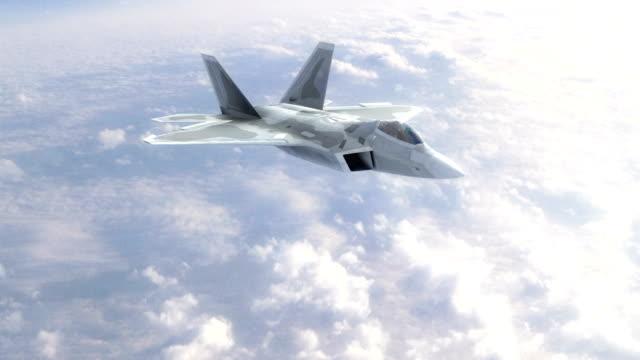 vídeos y material grabado en eventos de stock de combate de aviones a reacción - air force