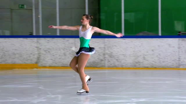 HD: Figure Skating Pirouette video