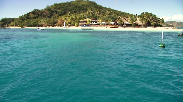 Fiji - Castaway Island coast line video