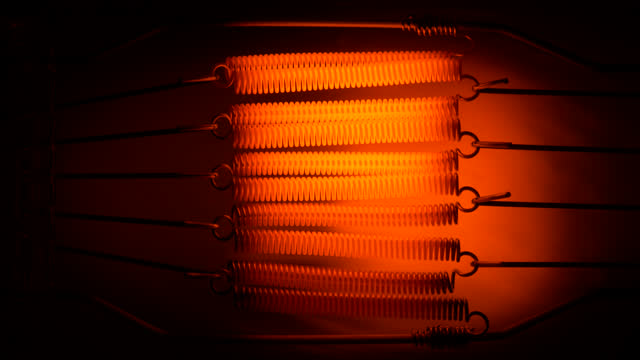 Filament close up.
