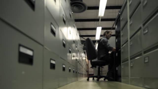 File Clerk Timelapse Loop video