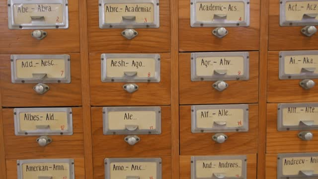 Filing Cabinet Closeup
