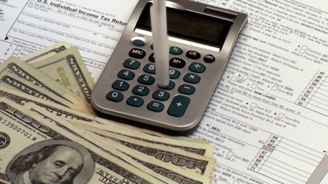 Filing tax return - HD video