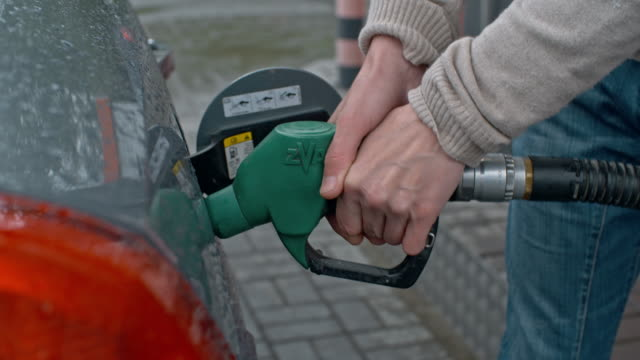 Filling Car Tank with Gasoline video