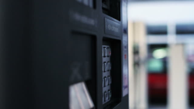Filling Up Petrol - Sequence video