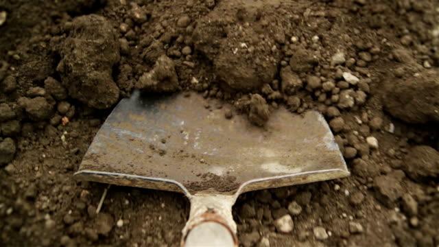 Filling up the wheelbarrow
