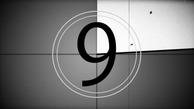Film Countdown Leader video