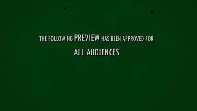 introduzione del film - conto alla rovescia video stock e b–roll