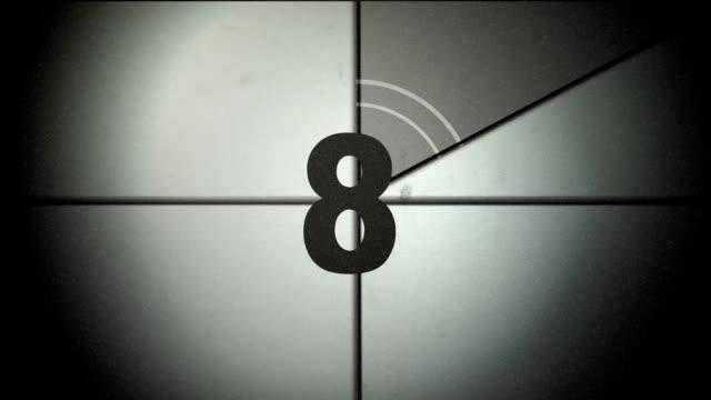 vídeos y material grabado en eventos de stock de film leader con sonido - gerente de cuentas