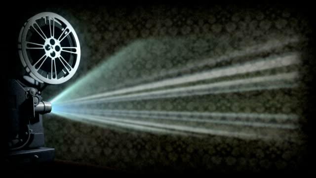film eski projektör - timeline stok videoları ve detay görüntü çekimi