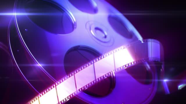 Film Reel Loopable Background video