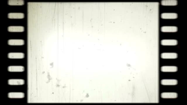 Film strip moving video