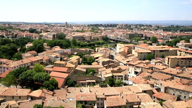 HD Film Tilt: Carcassonne Cityscape France video