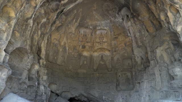 Film Tilt: Longmen Grottoes Luayang Henan China video
