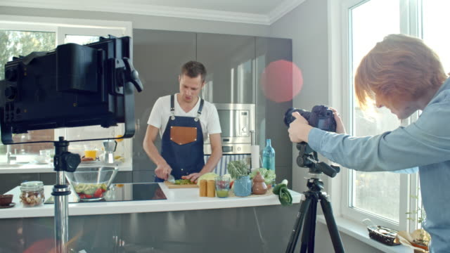 Filming Cooking Show video