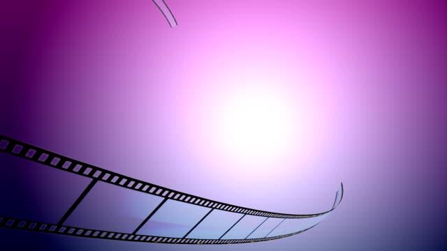Filmstrip animation video