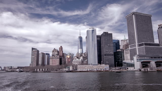Finance district od NYC video