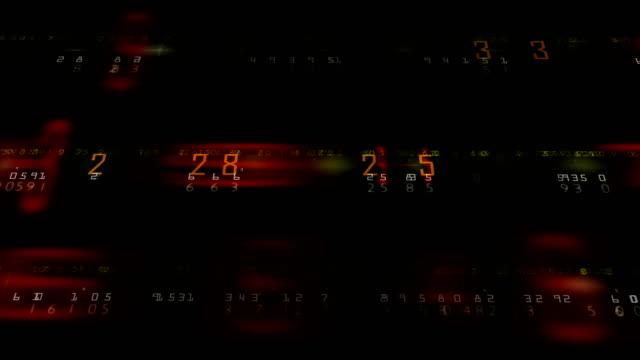 vídeos de stock e filmes b-roll de 4k finance economy business background animation infinite loop - nyse crash