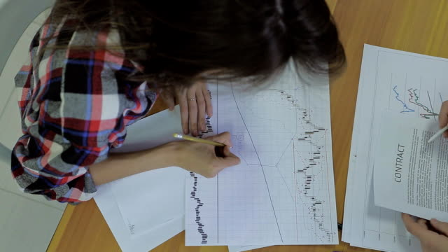 financial advisors prepare a paper to the Initial Public Offering and check the form of the contract video