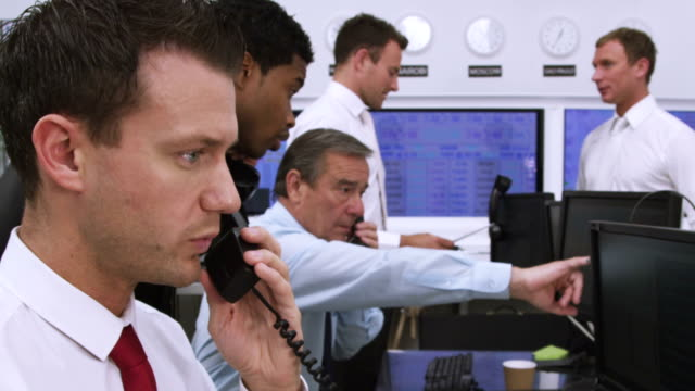 Financial business team of Stock brokers