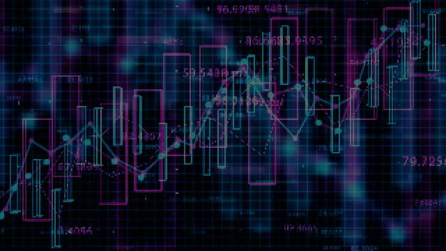 vídeos de stock e filmes b-roll de 4k financial data concept. - circular economy
