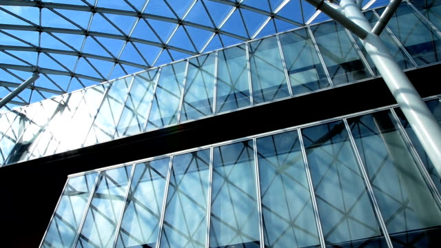 Financial District, Ceiling Glass video