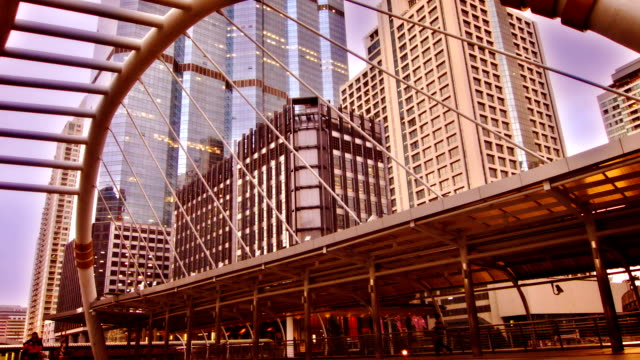 financial district City background post modern architecture stock videos & royalty-free footage