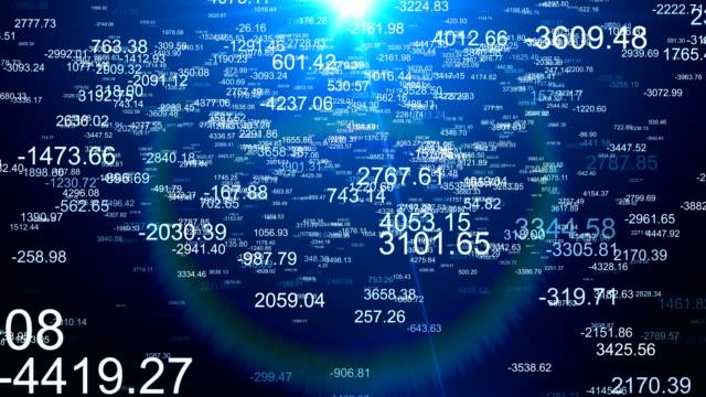 Financial Figures Data Analyzing video