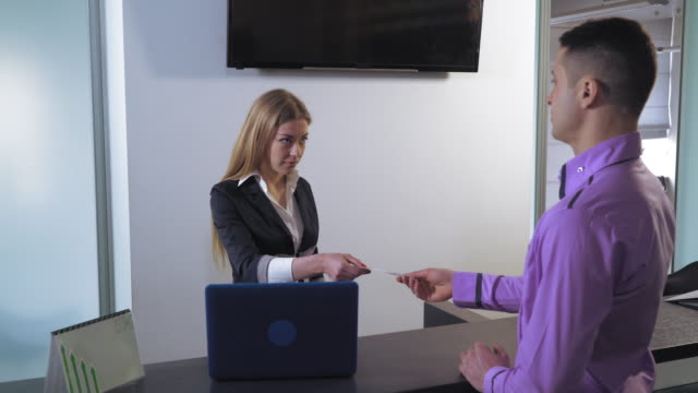 Financial manager at working place video