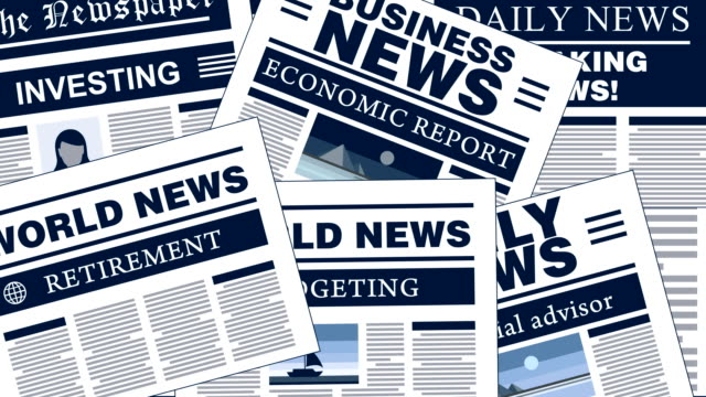 Financial Planning  Breaking News Newspaper Headlines