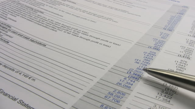 financial report series
