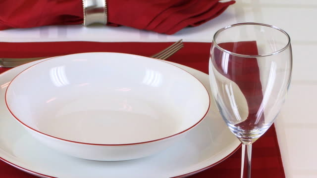 Fine Table Setting HD video