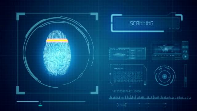 Fingerprint Scan - Access Granted video