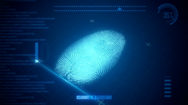 Fingerprint Scan video