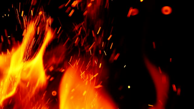 fire background - fire stock videos & royalty-free footage