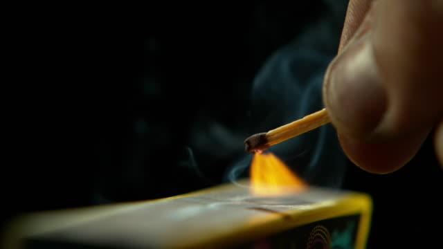fire burns brightest in the dark - incendio doloso video stock e b–roll