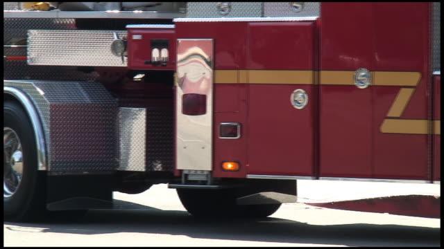 (HD1080) Fire Engine Truck Wheels video