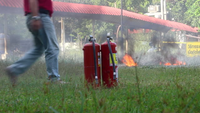 Fire Extinguisher video