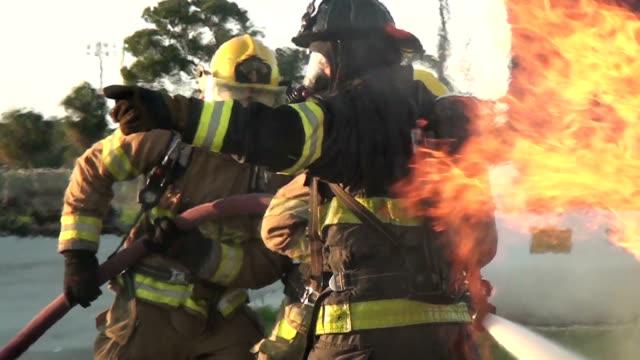 Contra incendios de fuego - vídeo