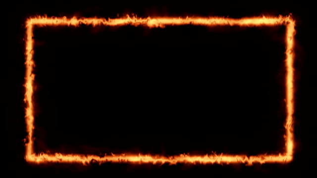 Fire -  Fire / Energy Style Frame video