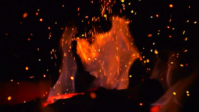 Fire Flames (Super Slow Motion) video