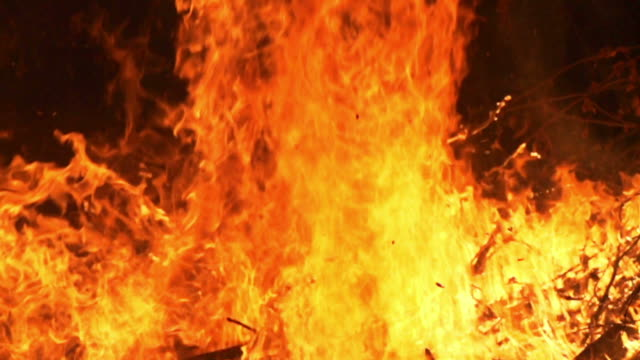 Fire Flames (Super Slow Motion) video