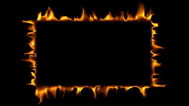 Royalty Free Fire Border HD Video, 4K Stock Footage & B-Roll - iStock