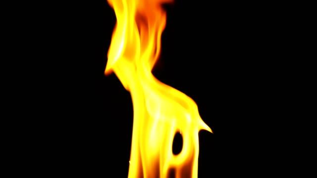 Fire Heat Burn like Hell Background