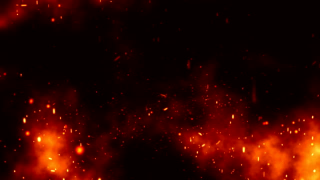 Fire Smoke 3 Loopable Background A Full HD, 1920x1080 Pixels, seamlessly looped animation hell stock videos & royalty-free footage