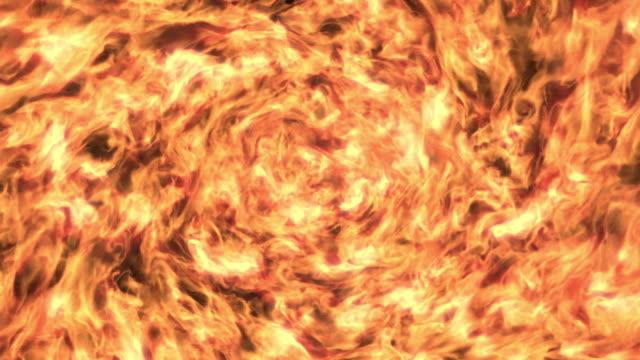 fire swirling texture - inferno video stock e b–roll