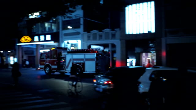 Fire truck goes on call video