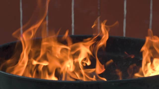 Fire Up The Grill In Slo Mo With Slider video