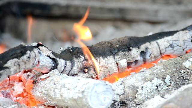 vídeos de stock e filmes b-roll de fogo - inflamável